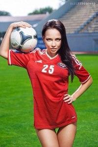 В сети появились новые фото запорожской модели в поддержку
