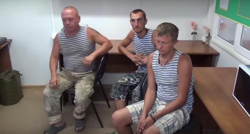 Задержанный запорожский солдат рассказал, что просто хотел выпить с российскими военными