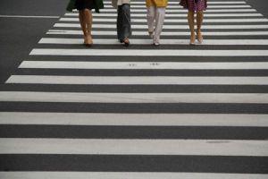За неделю коммунальщики «раскрасили» более полусотни пешеходных переходов