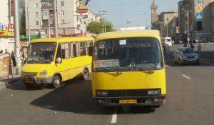 Жители Запорожской области стали меньше ездить на маршрутках