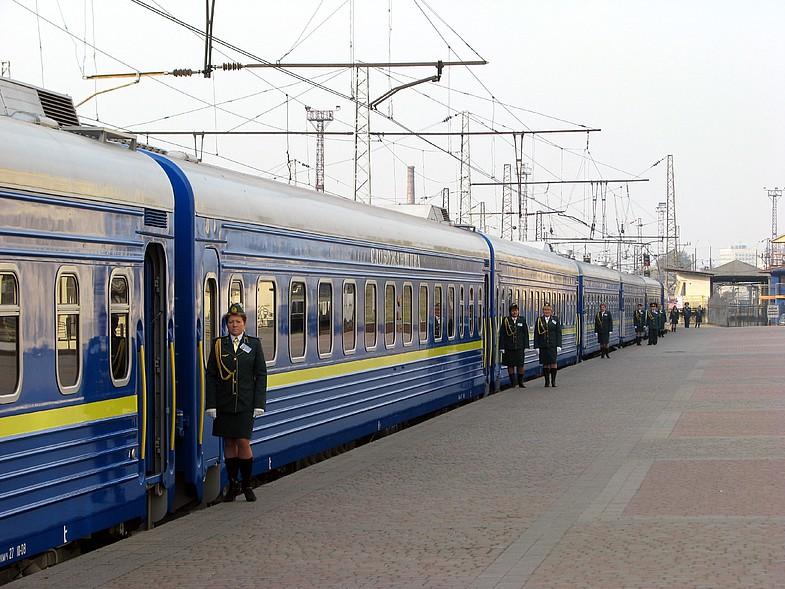 В график движения поезда Харьков-Запорожье внесли изменения