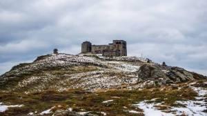 На Закарпатье выпал первый в Украине снег