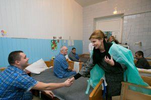 Президент: В Запорожском госпитале сейчас нет ни одного, раненного в зоне АТО, бойца
