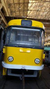 Сегодня в Одессу и Николаев поедут трамваи, отремонтированные запорожцами