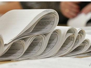 В Запорожье обработали данные 200 избиркомов