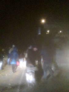 На трассе Запорожье-Донецк загорелся автобус: спасены 40 человек