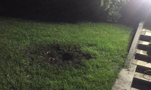 В сети появились фото с места взрыва возле дома Кивалова