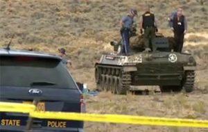 В США взорвался танк времен Второй мировой