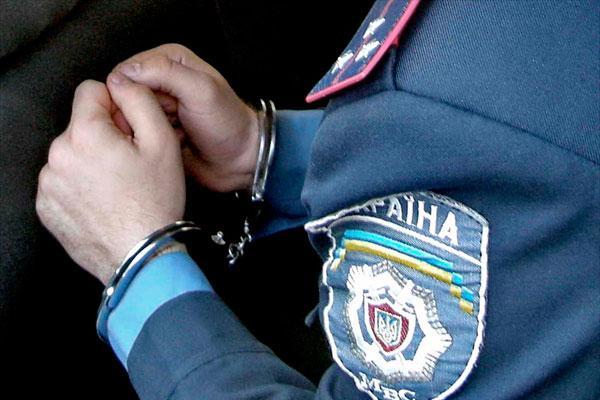 В Запорожской области милиционера поймали на взятке