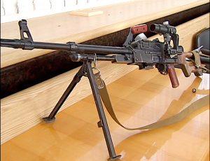 Военный из Николаевской области пытался провезти в Запорожье пулемет