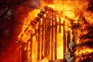 Житель Запорожской области сгорел в собственном доме