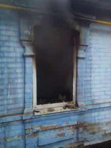 В Запорожской области во время пожара погибла 75-летняя женщина