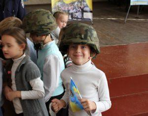 Как запорожские ГАИшники обучали школьников правилам безопасного движения на дороге