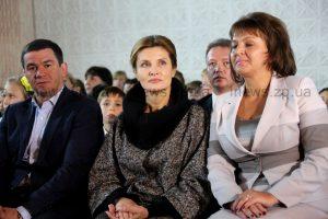 Фоторепортаж: как прошел визит первой леди Украины в Запорожье