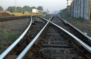 В Запорожье поезд сбил мужчину