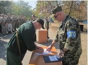 В Бердянском районе почти 80 военнослужащих приняли присягу