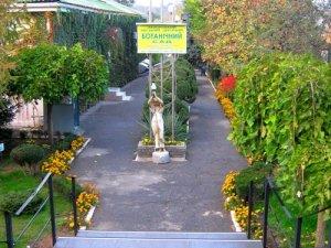 В запорожском ботаническом саду появилась современная теплица для тропических растений