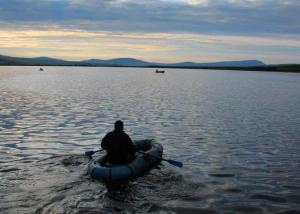 В Приморске рыбака отнесло на 200 метров от берега