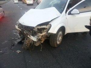 В Запорожье произошла очередная авария с маршруткой