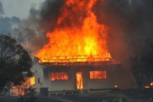 67-летний запорожец сгорел в собственном доме