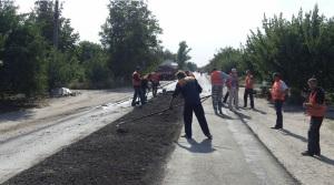 Запорожские дорожники проводят эксперименты над дорогами