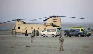 Тела жертв авиакатастрофы в Египте доставили в Петербург