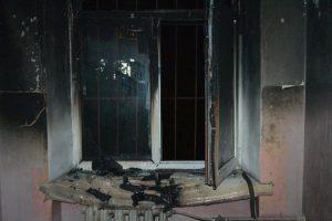 В результате пожара в одесском общежитии пострадали 4 студента