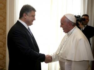 Президент встретился с Папой Римским