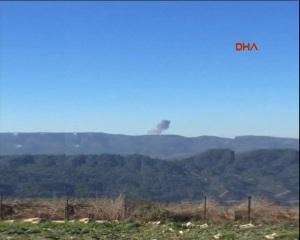 В Сирии разбился неизвестный военный самолет