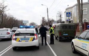В Киеве полицейские насмерть сбили женщину