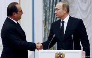 Путин и Олланд договорились вместе воевать с ИГ