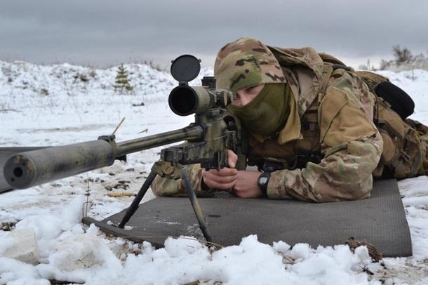 Как украинский спецназ учился стрелять на опережение