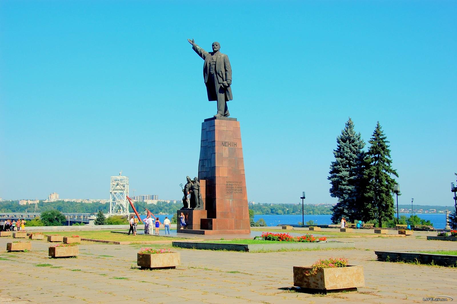 Запорожского Ленина хотят исключить из реестра памятников