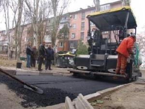 В Коммунарском районе Запорожья занялись ремонтом дорог