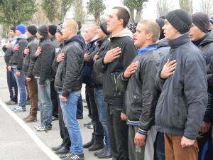 Отправка запорожских призывников в ряды Нацгвардии начнется со следующей недели