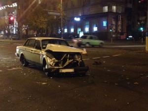 Очередное ДТП в Запорожье: иномарка протаранила маршрутку с пассажирами