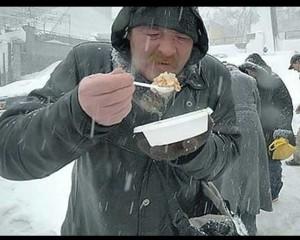 Горячий обед для одного бездомного обойдется областному бюджету в 14 грн