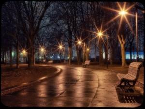 Запорожские дорожники о солнечных фонарях: Минусов нет