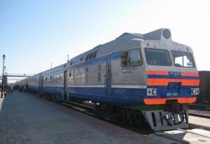 В Запорожской области загорелся пассажирский поезд