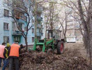 Короткая память: Руководство «Ремондиса» думает, что оперативно вывозило прошлогоднюю листву с запорожских дворов