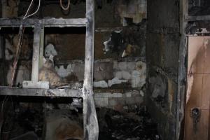 В сеть выложили видео крупного пожара в запорожской сауне