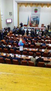 Первая сессия запорожского городского совета седьмого созыва претендует на звание «самой скандальной»