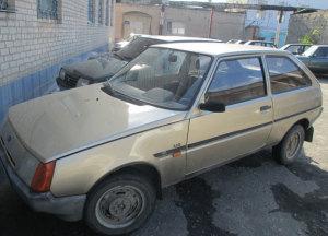 Угнанное авто нашли еще до того, как владелец заметил пропажу