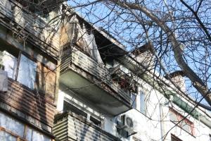 В запорожской многоэтажке произошел пожар