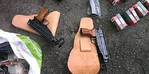 У двух жителей Запорожской области изъяли оружие