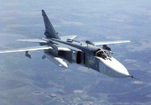 Запорожскими пограничниками был замечен российский бомбардировщик