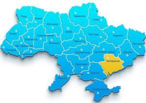 В Запорожской области обезглавлены восемь районов