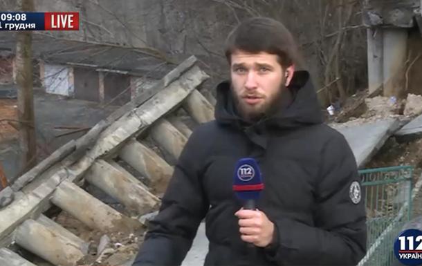 В столице обвалилась часть жилого дома – опубликовано видео