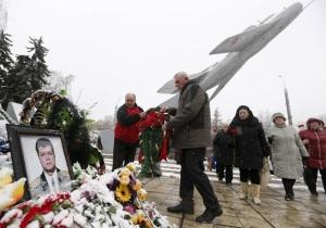 В России похоронили пилота сбитого Су-24