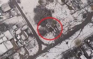 В районе Горловки замечены танки боевиков